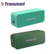 Tronsmart-Altavoz Bluetooth T2 Plus para exteriores, columna portátil con asistente de voz, impermeable, IPX7, graves profundos, NFC, 20W