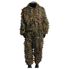 Hunting suit new camouflage uniform jungle training clothing outdoor camping hunting accessories hunting suit pants hooded jacke