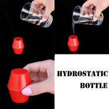 лучшая цена Hydrostatic Bottle Magic Tricks Stage Close Up Magia Mentalism Illusions Gimmick Prop Liquid Remains in Bottle Magie Classic Toy