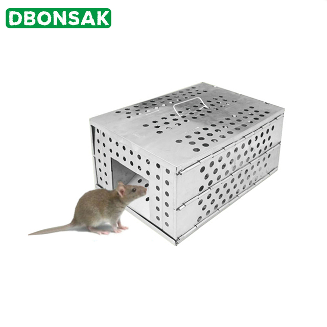 Ev büyük otomatik sürekli yeniden kullanılabilir yakalamak fare kapanları Bait Snap avcısı fareler fare kapanı avı sıçan fareler kemirgen kafesi