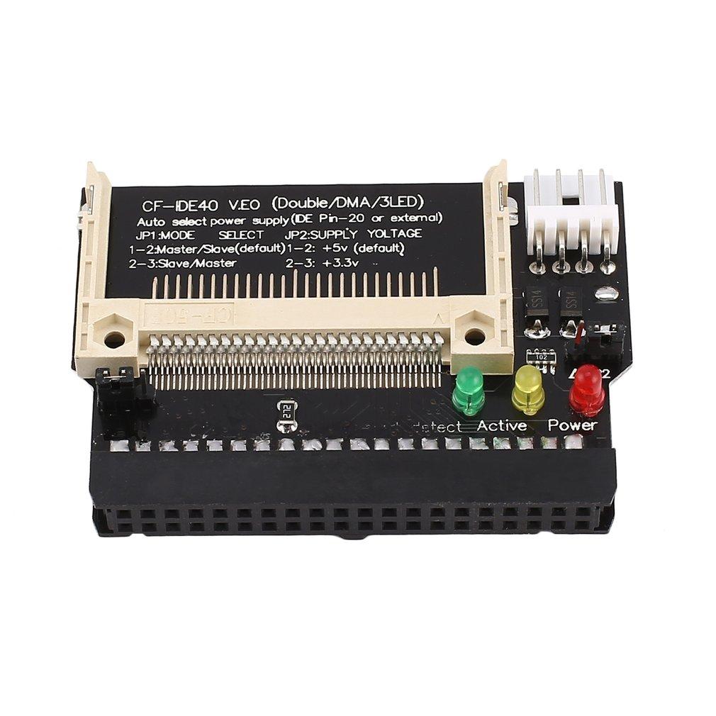 Адаптер конвертер Compact Flash CF до 3,5 женский 40-контактный IDE загрузочный карты Новый Прямая доставка