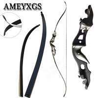 1Set Archery 20 55 Lbs 58 Inches Hunting Bow Recurve Bow Aluminum Longbow Hunting Shooting Game Sports Bow And Arrow Accessories