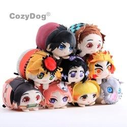 10 CM Anime Dämon Slayer Plüsch Spielzeug Cartoon Kimetsu keine Yaiba Agatsuma Zenitsu Nezuko Hashibira Figur Spielzeug Peluche Kinder Geschenk