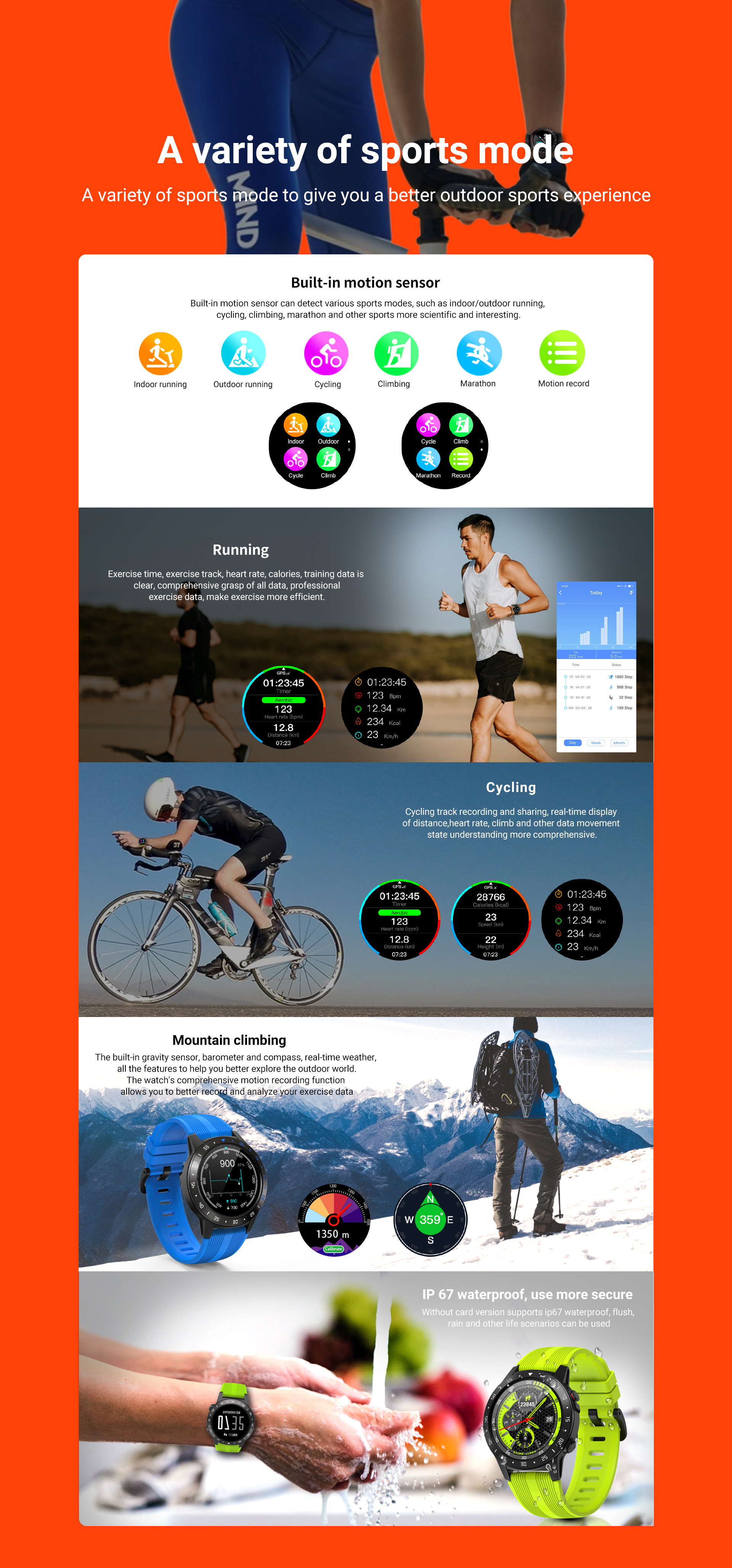 H130b446a08f647e1b716e2d55df2ad90I GPS Smartwatch Men With SIM Card Fitness Compass Barometer Altitude M5 Mi Smart Watch Men Women 2021 for Android Xiaomi