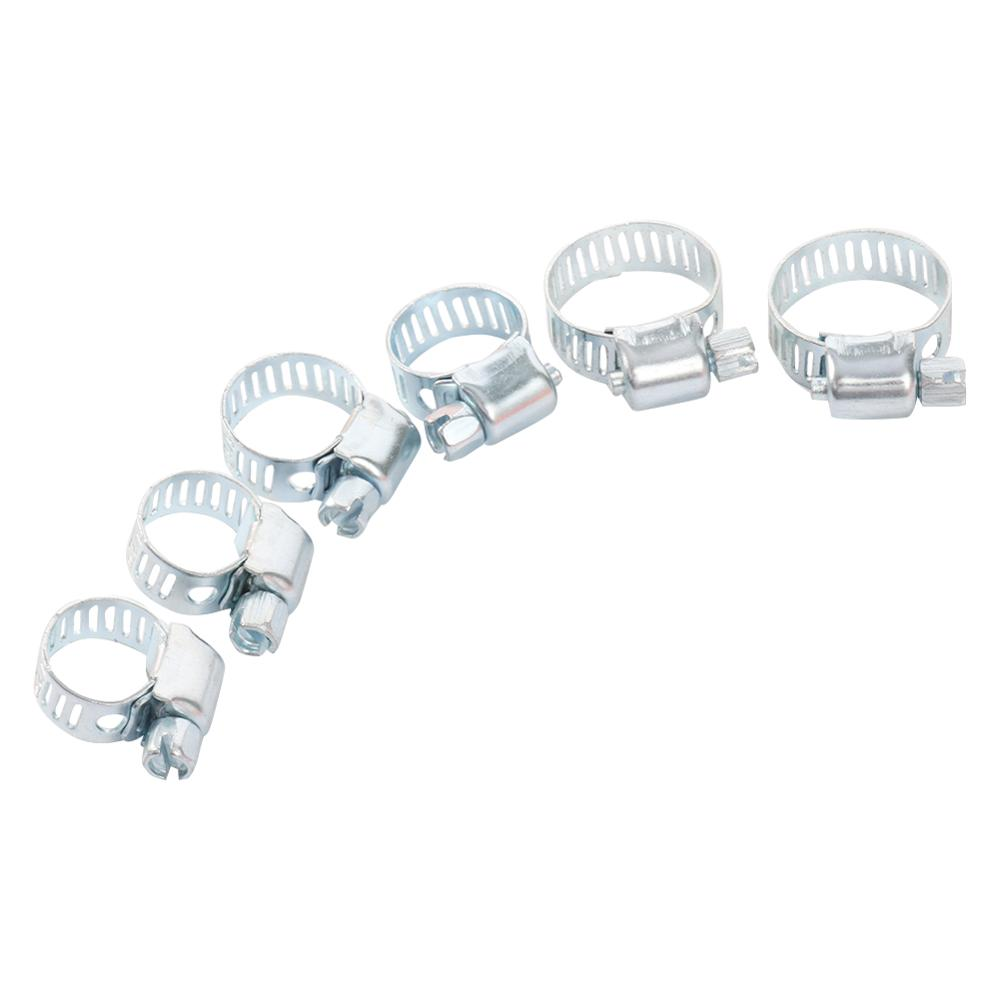 5 Pcs Iron Drive Hose Clamp 1/2