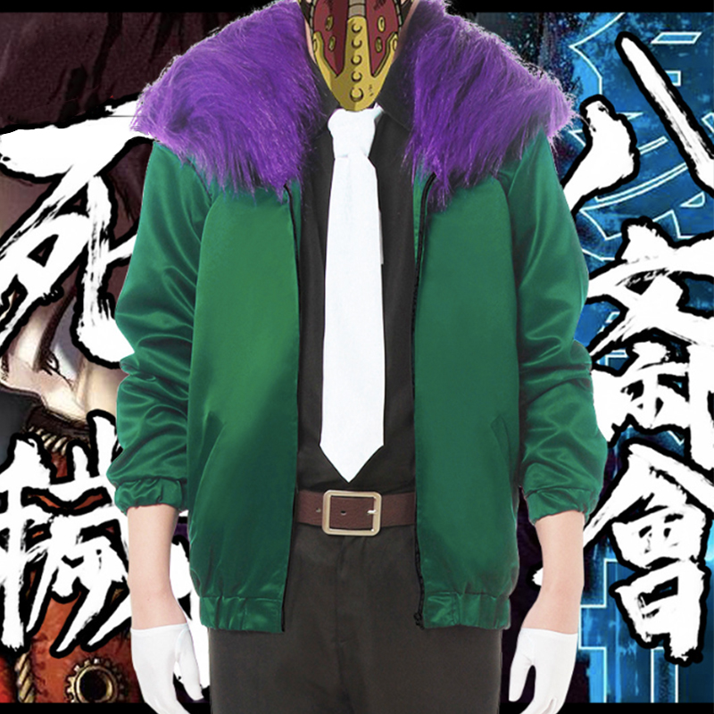 Anime Comic My Hero Academia Cosplay Costumes Overhaul Chisaki Kai Cosplay Costume Suits Men Uniforms Jacket Full Sets Clothes