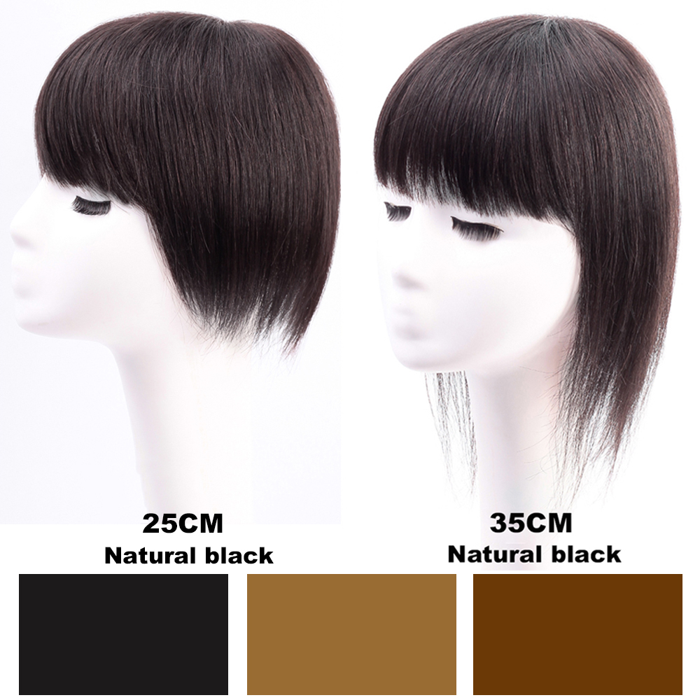 XUANGUANG 3 Colors Long Straight Clip Closure Hair Extension High Temperature Synthetic Wig Clip Female Wig 2 sizes