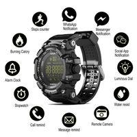 Men Tactial Military Grade Super Tough Smart Watch Outdoor Sports Bluetooth Watch Waterproof pedometer Wristbands