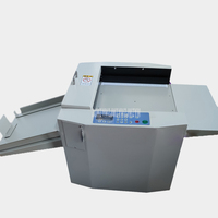 Electric Paper Creasing Machine Automatic Feeding Paper Max 33cm Width Solid Line/Dotted Line Indentation Machine 220V 100W