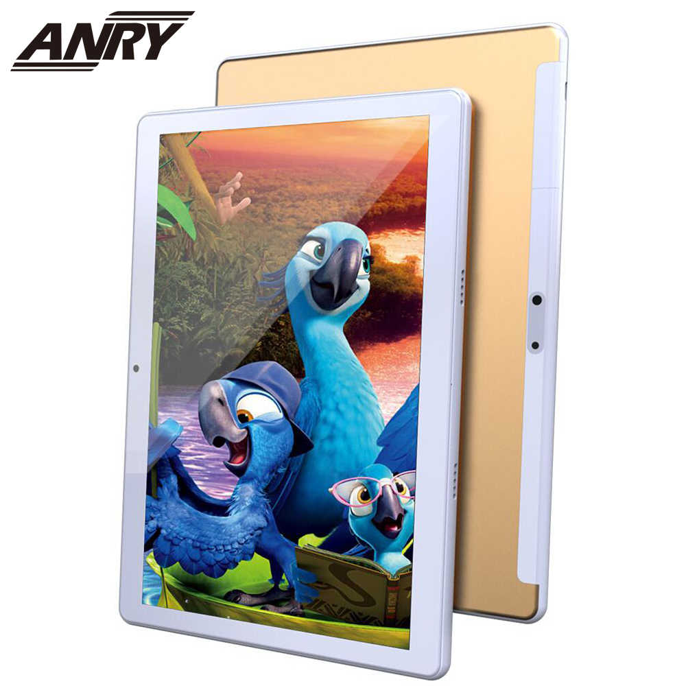 ANRY 4G LTE 10.1 Inch Android Tablet PC Deca Core Processor Android 9.0 8GB RAM 128GB Opslag 1920x1200 IPS Dual Sim Telefoontje