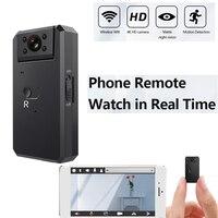4K 180 ° cámara MINI nube cámara IP inalámbrica WiFi inteligente para automóbil de seguimiento de casa de seguridad CCTV bebé soporte de Monitor TF tarjeta
