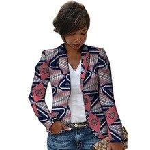 Women African blazers traditional female Dashiki print blazer