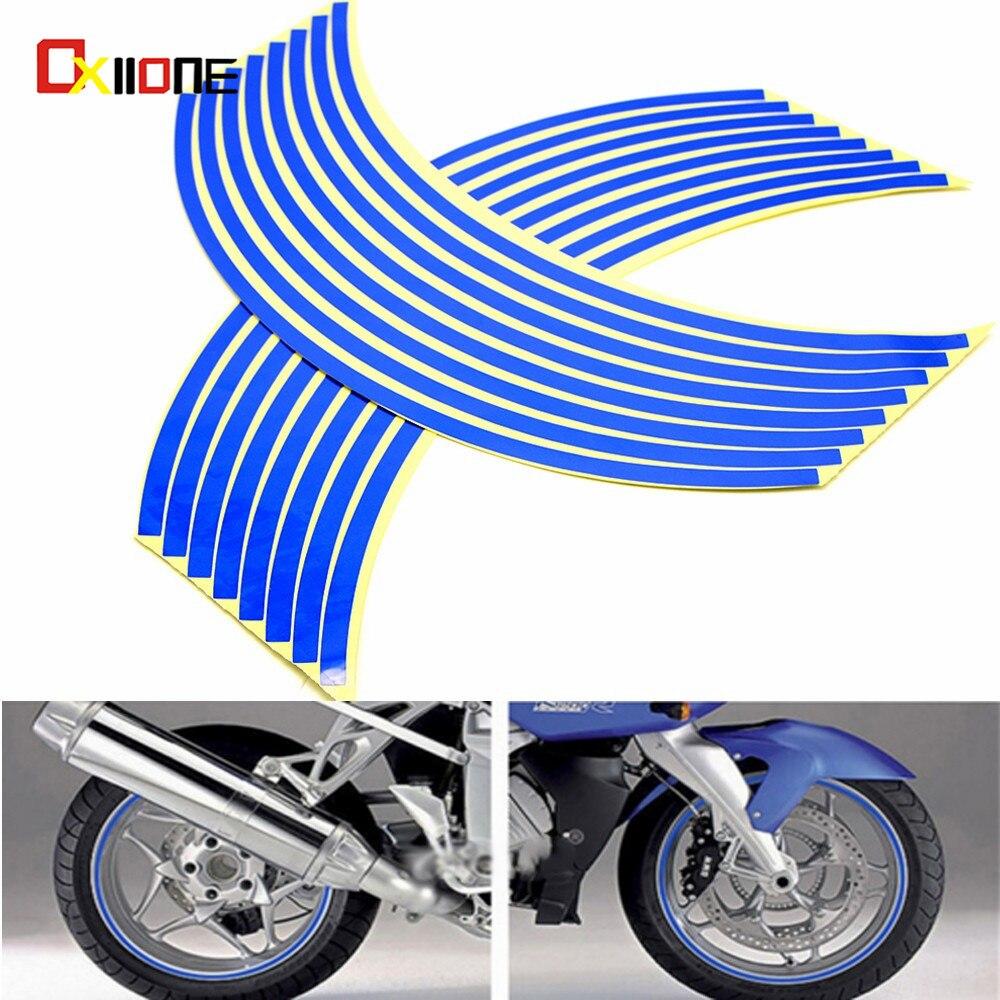 Motorcycle Waterproof Rim Wheel Reflective Decals Decoration Sticker For SUZUKI GSX-S1000 ABS GSX S1000 GSX650F SV650SF GSX250R