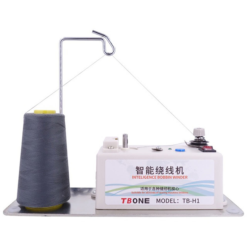 Máquina de costura assistente bobina dobadoura elétrica inteligente automática thread stand acessórios bordado ferramenta bobinas universal