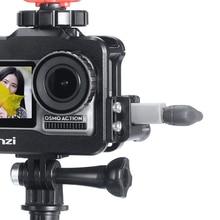 Ulanzi Microphone câble fixateur enrouleur pince sans fil enregistrement Microphone adaptateur montage pour Osmo Action Vlog accessoires