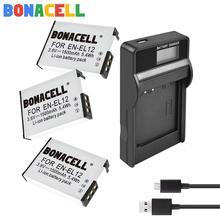 1.5Ah EN-EL12 EN EL12 For Nikon Battery+LCD Charger for Nikon CoolPix S610 S610c S620 S630 S710 P300 P310 P330 S6200 S9400 replacement lg laptop batteries for p310 p300 lb6211be eac40530401 apb8c 11 1v 6 cell