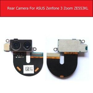 Image 3 - Caméra principale avant et arrière pour ASUS ZenFone 3 Zoom ZE553KL arrière grande petite caméra avec câble flexible pièces de rechange