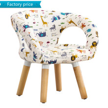 Children Table and Chair Kindergarten Wooden Stool Cartoon S