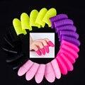 5 шт., силиконовые колпачки для снятия гель-лака для ногтей