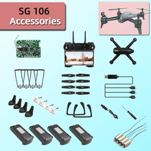For SG106 RC Drone Accessories Replaceable Propeller Blade Quadcopte Protective frame shell Tripod m