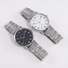 Men's Watch Men's Watch Simple Stainless Steel Clean Steel Strap Digital Ultra-Thin Quartz Watch Military цена 2017