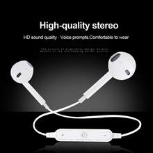Musik Headset Ponsel Neckband Sport Earbud Earphone Nirkabel BT V4.1 Headset Olahraga Stereo Bluetooth Earphone Headphone(China)