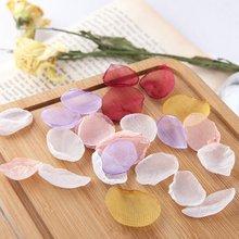 10 шт/лот сетчатые Подвески в виде цветочных лепестков для ювелирных