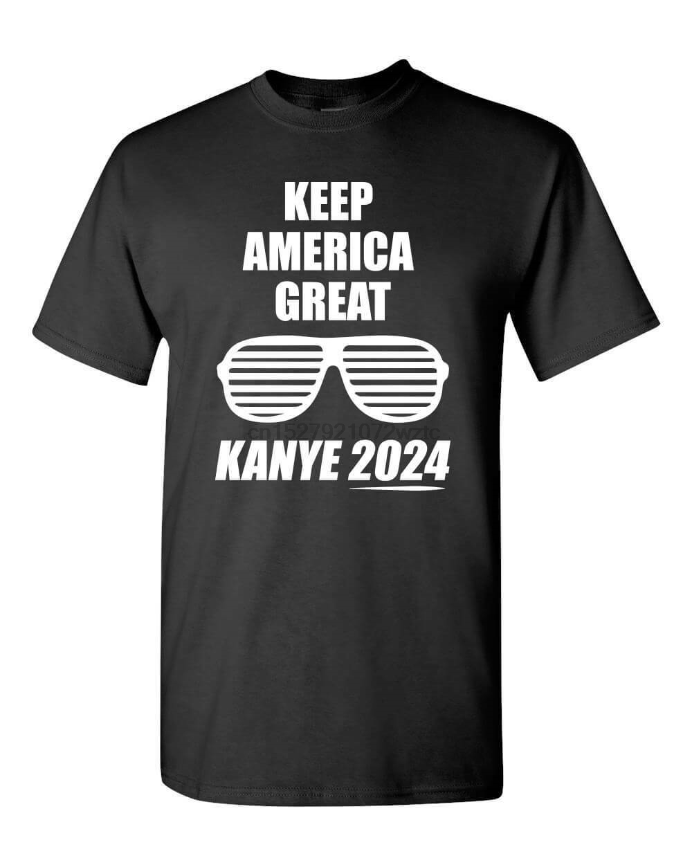 Kanye 2024 Funny Trump Dragon Blood Red Pill Woke Candace Owens MAGA T-Shirt