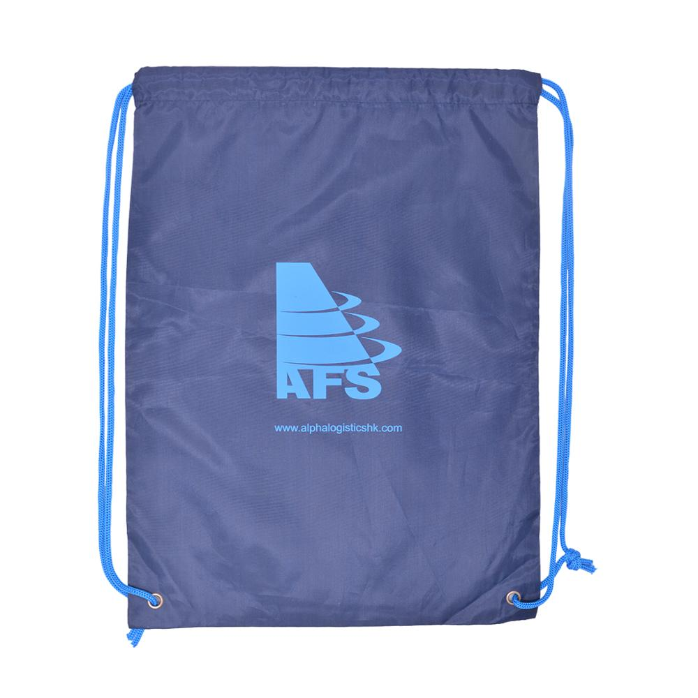 100pcs/Lots Custom Drawstring Bags With Your Designe Printed Polyester DIY Backpack Eco-friendly Customized Gym Bag