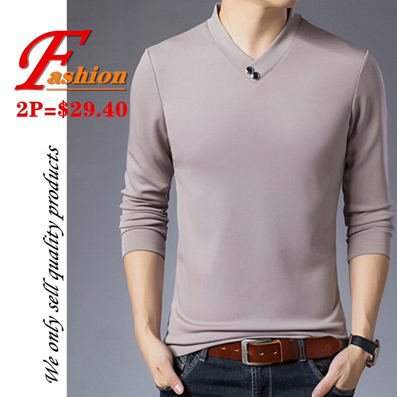 High-end new men's turtleneck pullover Soft Breathable Comfortable Crease proof Colorfast Anti-Pilling Plus-size New polyester