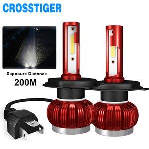 Image 1 - LED H4 LED H1 H7 H11 9005 9006 hb4 hb3 Car Headlight Bulbs  LED Car 6000K White Light Auto Headlight Fog Lamps H7 LED Light Bulb