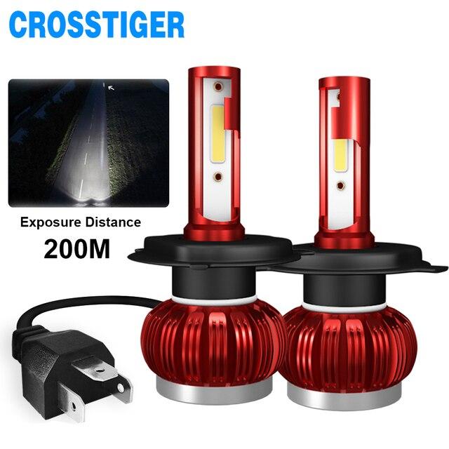 LED H4 LED H1 H7 H11 9005 9006 hb4 hb3 Car Headlight Bulbs  LED Car 6000K White Light Auto Headlight Fog Lamps H7 LED Light Bulb