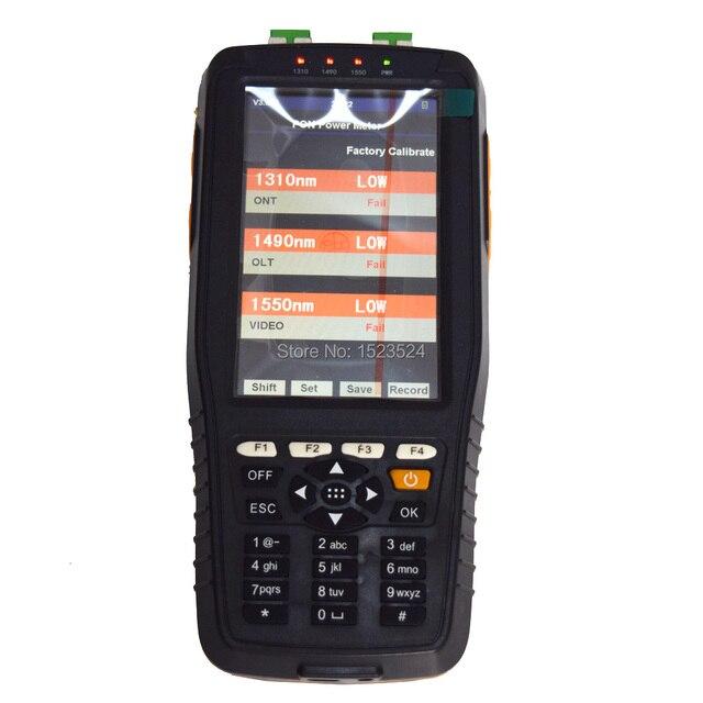 TM70B يده PON الألياف البصرية السلطة متر 1310/1490/1550nm