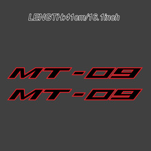 Red Reflective Motorcycle Wheels Fairing Helmet Tank Pad Decoration Logo  Stickers Decals Fits For YAMAHA MT-09 MT09 MT 09 black blue stickers decals for motorcycle stripes fits for yamaha mt 09 mt09 mt 09 wheels rims tank body reflective inner