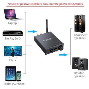 Image 3 - Neoteck amplificador de Audio estéreo Bluetooth 4,2, certificado AptX de baja latencia, amplificador clase D de alta fidelidad, amplificador integrado 50W + 50W