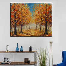 Laeacco Nordic Oil Painting Abstract Forest Landscape Canvas Posters And Prints Wall Art Canvas Painting Modern Room Decoration laeacco nordic oil painting abstract forest landscape canvas posters and prints wall art canvas painting modern room decoration