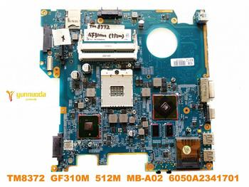 Original for ACER TM8372  8372 laptop motherboard TM8372  GF310M  512M  MB-A02  6050A2341701  tested good free shipping