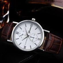 Diseño Retro reloj de los hombres de aleación de cuarzo Simple relojes casuales de los hombres de delicado bien relojes Bvlgari mannen #10