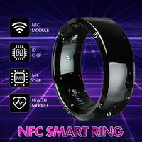 Waterproof Unlock Health Protection Smart Ring Wear New technology Magic Finger NFC Ring For Android Windows NFC Mobile Phone|Smart Accessories| |  -