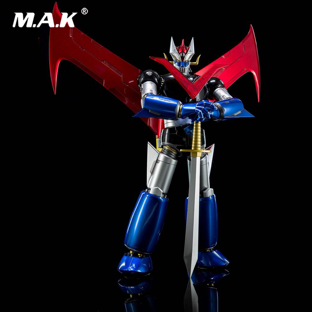 Collectible 24cm 1/9 Iron Man King Arts 1:9 Diecast DFS066 KA <font><b>MAZINGER</b></font> <font><b>Z</b></font> No.2 Nagai Gou <font><b>Figure</b></font> Model Toy Model for Fans Gifts image