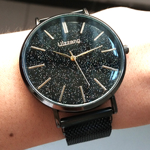 Minimalist Style Men Watch 2019 New Fashion Starry Sky Watch For Men's Best Gift Magnet Mesh Quartz Wrist Watch Relogio Feminino high quality low price brown fashion vintage casual style new men s mechanical business wrist watch plus gift box best gift s011