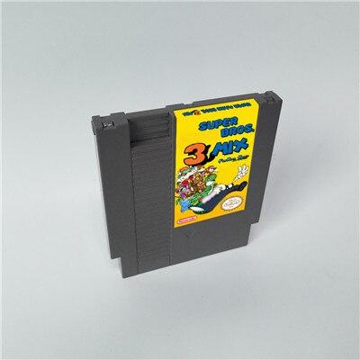 Super Marioed Bros. 3 Mix - 72 Pins 8 Bit Game Cartridge