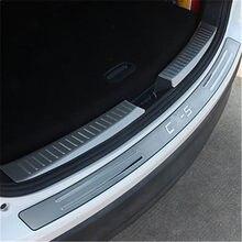 Protetor de amortecedor traseiro, tampa de peça, acessórios de placa para mazda CX-5 cx5 2013 2014 2015 2016 estilo do carro