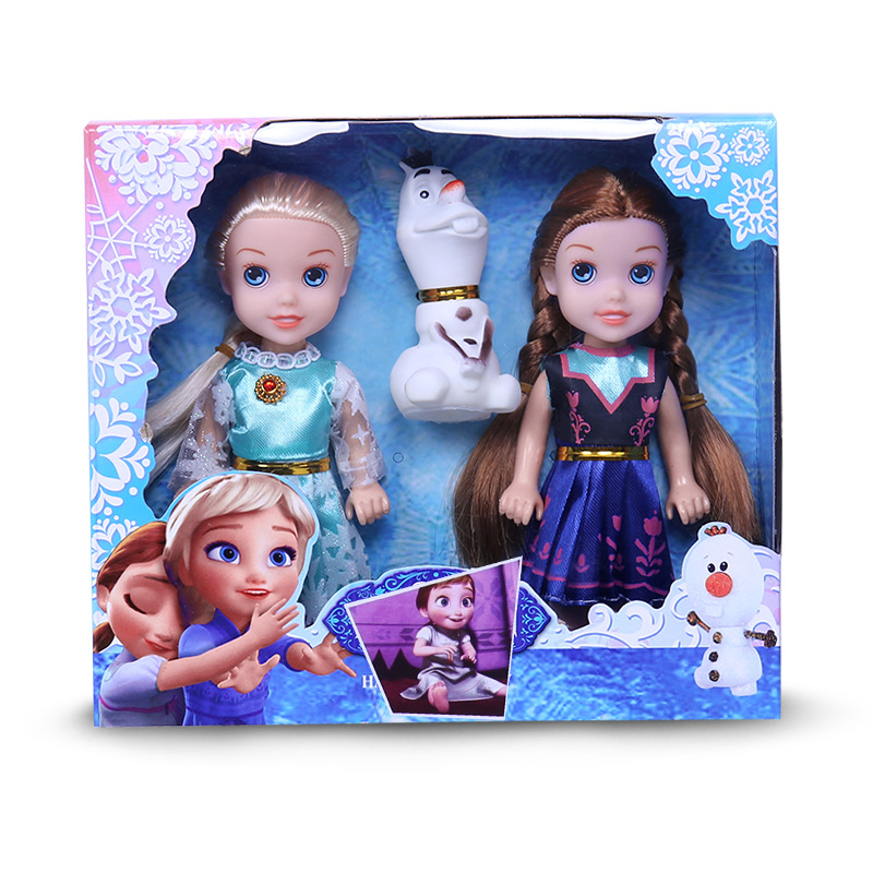 "12/"" Frozen Elsa Classic Doll with Olaf Figure Disney NEW FREE SHIPPING"