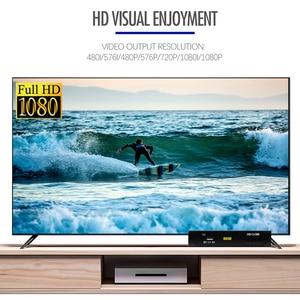 Image 3 - Mais novo dvb s2 hd 1080p receptor de tv por satélite dvb s2 receptor de satélite europa suporte decodificador youtube potência vu biss sintonizador de tv