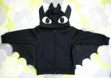 Children Pajamas Sets Kids Cosplay coat Christmas Costume Girls Boys Halloween Teen Winter Hooded Sweatshirt Dragon Toothless