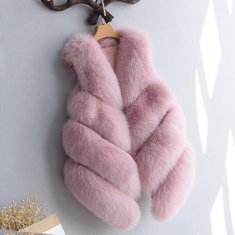 Women's Fox Fur Waistcoat 6