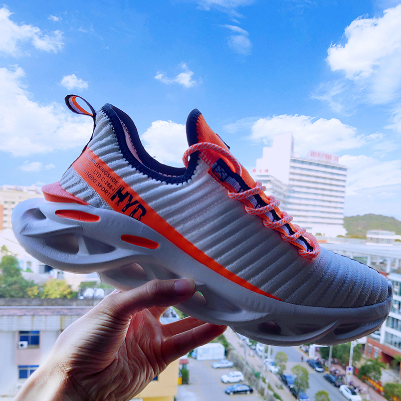 2020 New Men Shoes Casual Summer Plus Size Sneakers Outdoor Sport 48 Yards Lightweight Running Comfortable Mesh Breathable Shoes