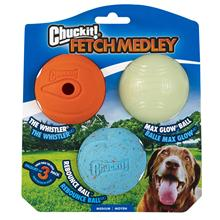 Pet Glowing Ball Dog Toy Game Rubber Ball Dogs Resistance Bite Dog Fetch Medley Medium Pet Training Products