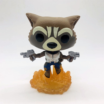 FUNKO POP Guardians of the Galaxys Vol. 2 ROCKET #201 Vinyl Figure Dolls Toys 2